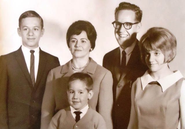 11 Allison family (l-r) Peter, Willene, Theodore, Paul, Barbara, 1963