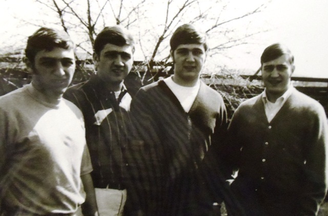 12Arger boys, (l-r) Prokey, Anthony, Gregory and George, circa 1960