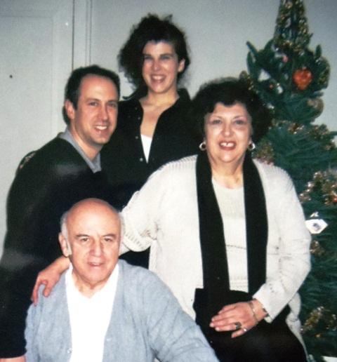 15 Peter, John, Maria and Katina, circa 1990