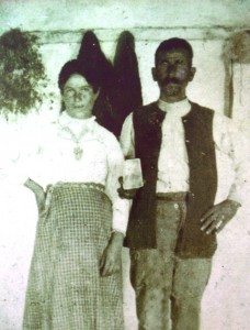2 Paternal grandparents, George Kassios and Athanasia Mouses, circa 1900