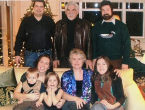 22 George and Diana family, 2011