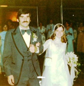 26 PAUL AND PAM WEDDING, JUNE 4, 1977 akron ohio