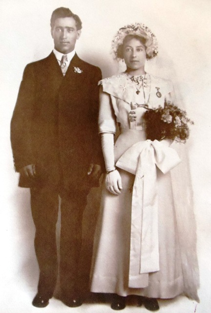 5 Chris and Theodora Delegans wedding, Seattle,  July 21, 1912