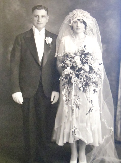 6 Steve and Maria Melonas wedding, 1929