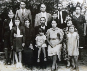 Family in Greece 1939