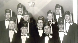 11 Dean with AHEPA brothers,circa 1960