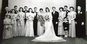 13 Elly and Elia wedding, 1947