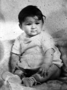 14 Voula at six months, 1941