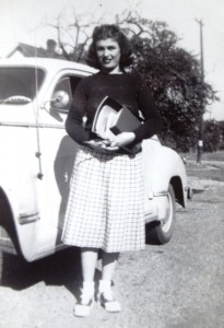 15 Elly at Stadium High School, 1947