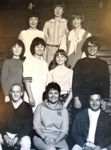 15 Quincy Jack Rabbit yearbook staff, 1967