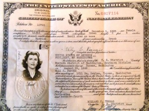 16 Elly's citizenship, 1949