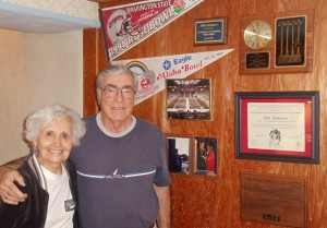16 John and Karrie at home, 2012