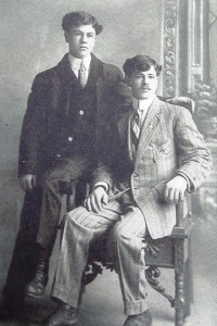 2 James and George Sakellaris, sons of John and Mary, circa 1900