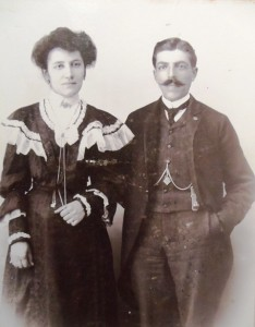 2 Marianthe and John Manousos, circa 1907