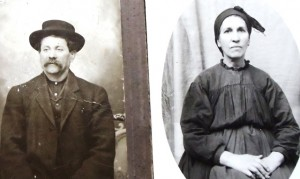 2 Maternal grandparents, Eleftherios and Ekaterini Hagidrosou