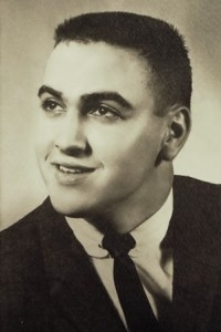 24 John in high school, 1963