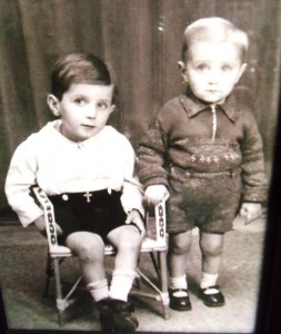 4 Terry with brother Jimmy, circa 1937