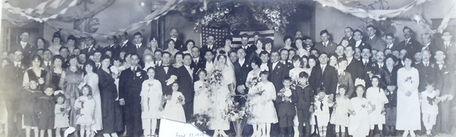 6  John and Efthalia Gregores wedding, April 27, 1919