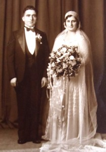 6 Mike and Irene Cokinakis wedding, 1930