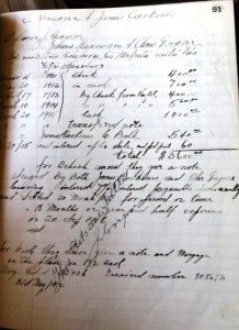 7 Apollo Restaurant ledger, circa 1915