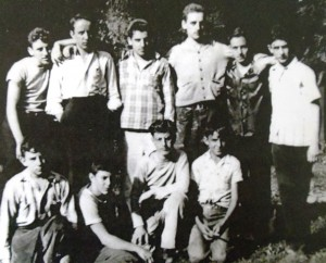 8 Nick Dallas' campers, early 1940