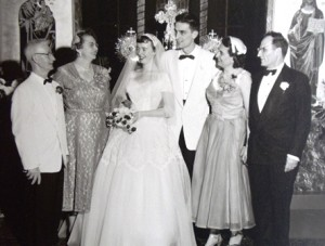 13 Pearl and Paul wedding, 1956