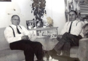 13Papou Lavaris and Grigorios Spyridis, circa 1963