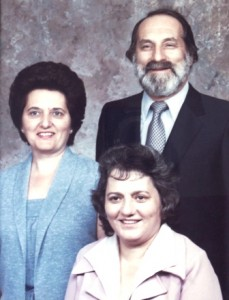 14 Catherine, Molly and Tom, circa 1981