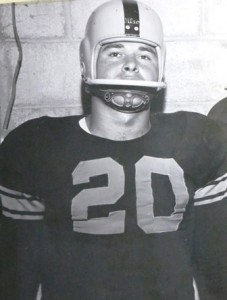 15 George in high school at Lewiston, 1957