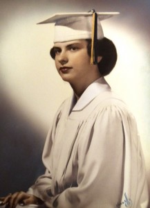 2 Thalia at high school graduation, 1952