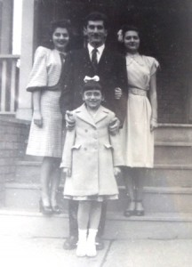 3 Catherine, Tom, Molly and Rita Barbas, 1946