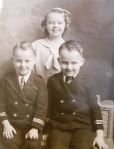 9 Pearl and brothers, circa 1940