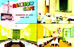 16 Rainbow Cafe postcard, date unknown