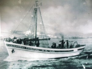3 Rouvelas first fishing boat, circa 1930