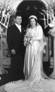 7 Larry and Mary Wedding, February 15, 1942
