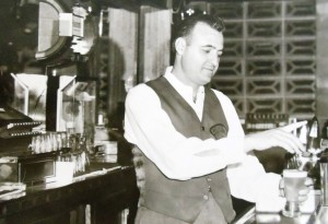 7 Tending bar at the Cabalerro, circa 1965