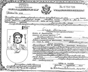 7 Grace's Citizenship, 1948