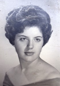 12 Anna in high school, 1963