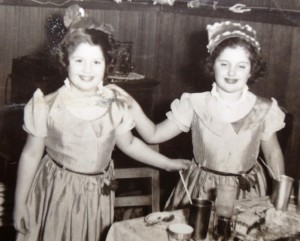 16 Peggy and Anna, circa 1952