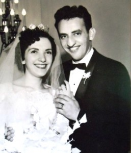 5 George and Venetia wedding, 1957