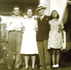 7 TOM, MARO, CHRISTOS AND HELEN BARBAS,  1950s