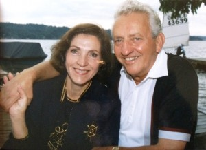 7 Venetia and George Pallis, circa 1991