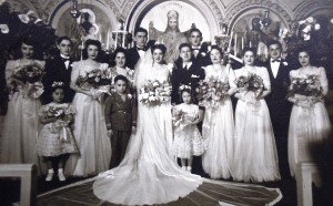9 Eleni and Athanasios wedding, 1944