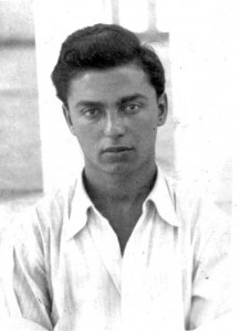 9 Dimtri first ID photo age 17 in 1948