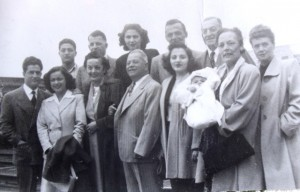 10 Arriving in Seattle - (l-r)   1949
