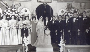 12 Greta and Nick wedding, 1949