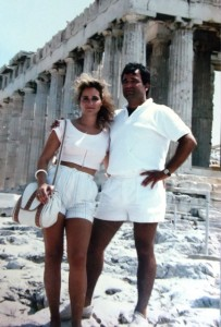 14 Maria and Angelos in Greece, 1989