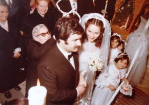 6 Angelo and Maria wedsding, 1980