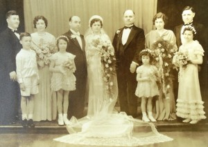 14 Gus and Smaragda wedding, 1936