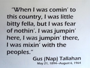 19 Gus Tallahan quote, timeless